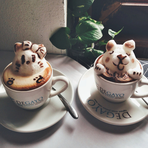 Cafe_D_Japanese Latte Art That Will Inspire You To Drink (Even) More Coffee