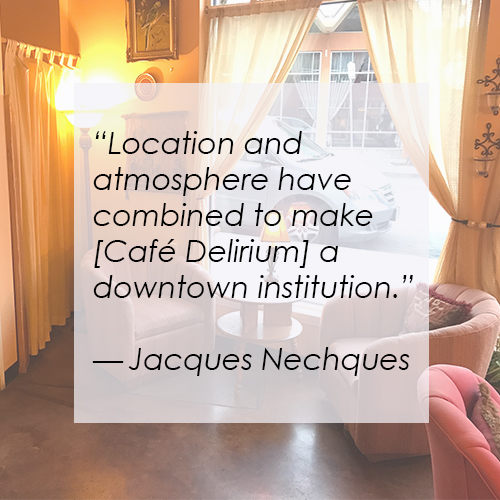 Cafe_D_Latest Reviews For Café Delirium
