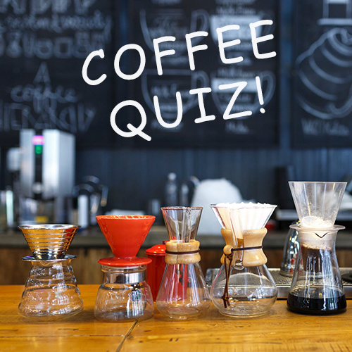 Cafe_D_Coffee Trivia Time