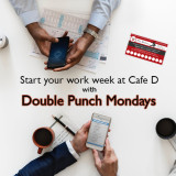 Visit On Mondays For Double Punches!