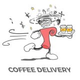 Perk Up With Coffee Delivery From Cafe Delirium
