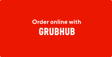 Grubhub coffee and food delivery button